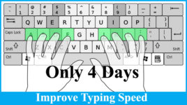 How to Improve Typing Speed Without Looking At The Keyboard